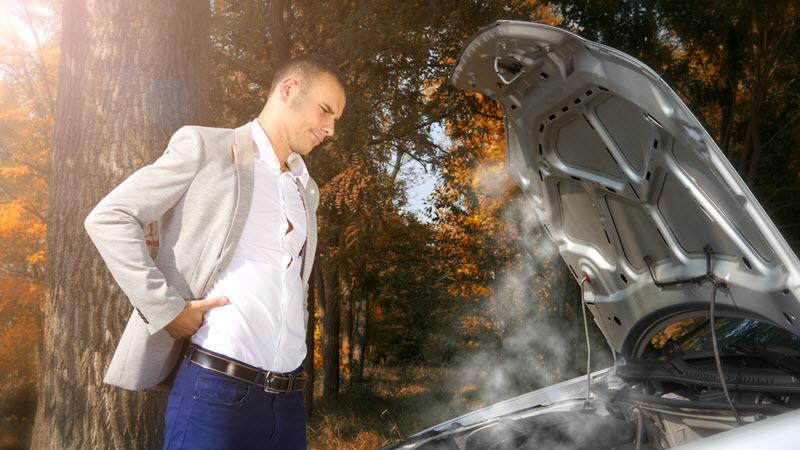 Mercedes Engine Overheating