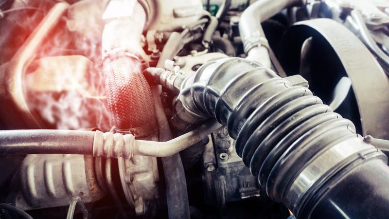 Mercedes-Benz Transmission Leaks Sign