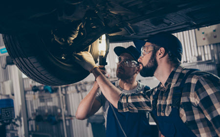 Jaguar Air Suspension Inspection