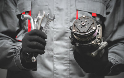 Volvo HVAC Compressor Repair